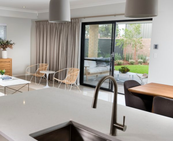 Display home kitchen by Move Homes