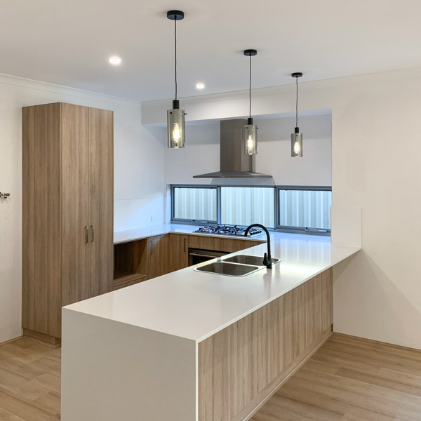 brand new kitchen in a new Piara Waters property