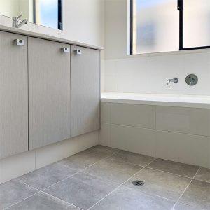 Flex Wall Basin and Bath Mixer Set