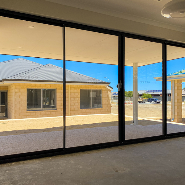 Extra frames in a sliding door adds more natural light in this Move Homes house